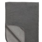 deken grijs antraciet