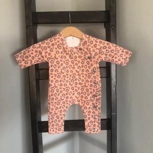 boxpak 44 roze tijger print