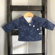 shirt 44 blauw ijsberen