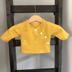 shirt 44 geel nijntje
