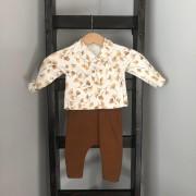 Shirt klaver broek roest