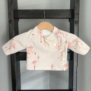 shirt 44 ecru flamingo