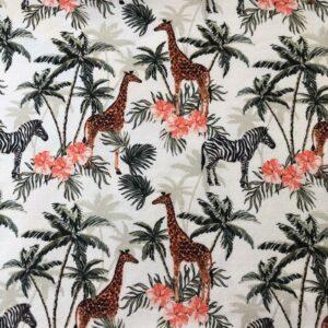 stof zebra giraf