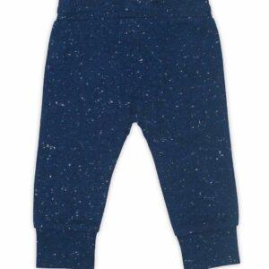 spekled blue broek