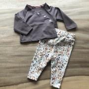 choco shirt met legging vlekjes tafel